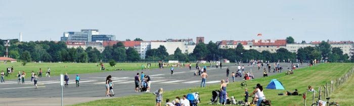 Tempelhofer Feld в Берлине