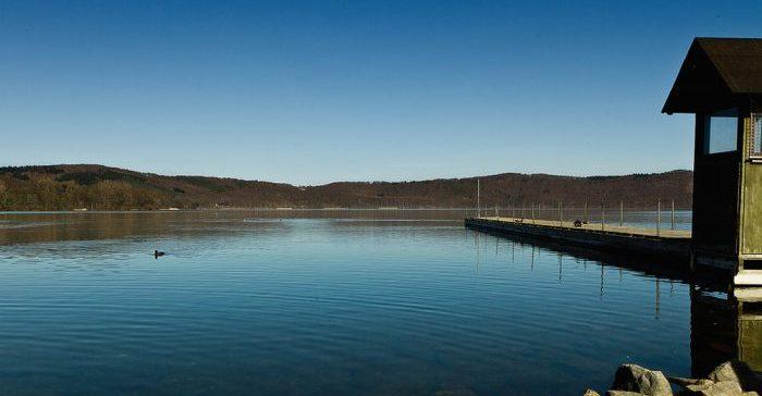 Лаахер-Зее озеро в Германии