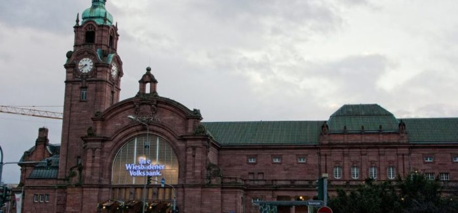 Центральный ж/д вокзал Висбаден