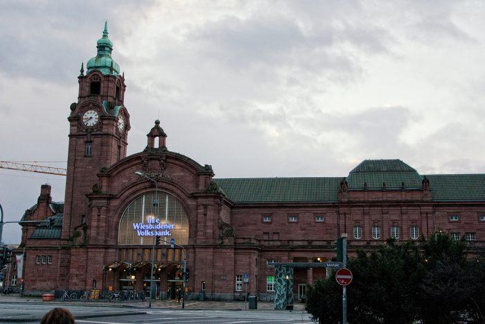Железнодорожный вокзал Висбаден