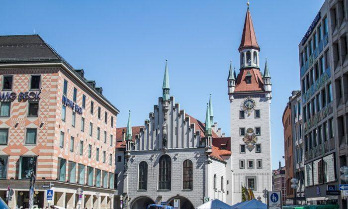 Старая ратуша в Мюнхене