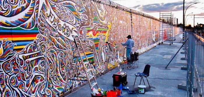 Берлинская стена в Берлине