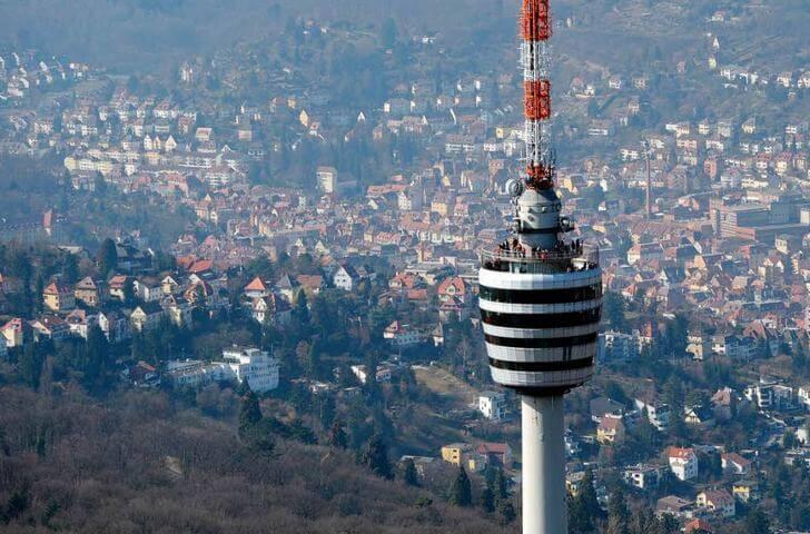 Телевизионная башня в Штутгарте