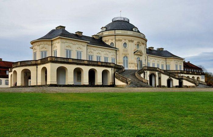Дворец Солитюд в Штутгарте