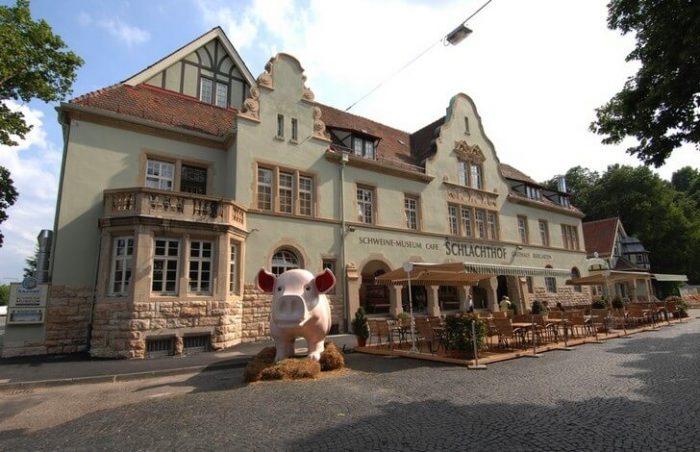 музей свиней в Штутгарте