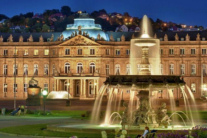 Новый и Старый дворцы в Штутгарте