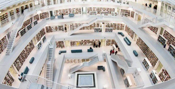 Библиотека в Штутгарте
