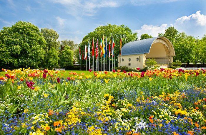 Kurgarten в Баден бадене
