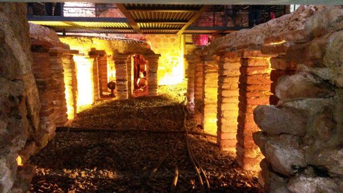 Руины римских бань в Баден Бадене