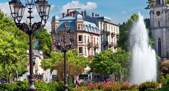 Старый город в Баден Бадене