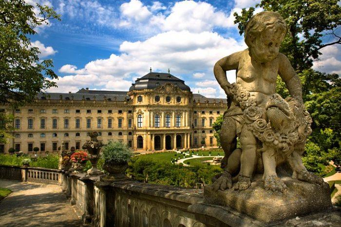 Придворный сад Вюрцбурга