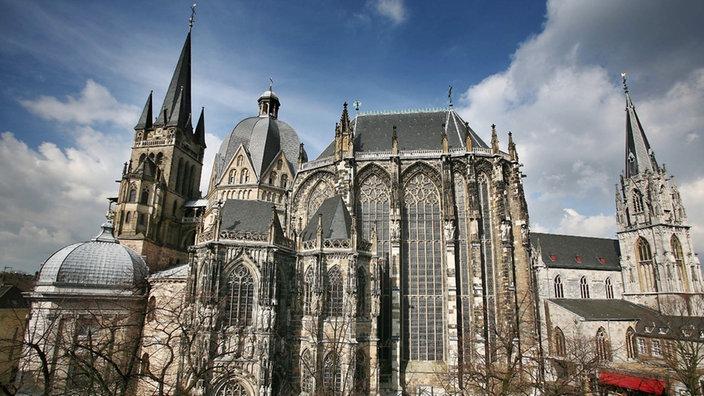 Аахенский собор в Германии