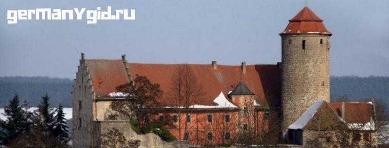 Замок Лисберг в Бамберге