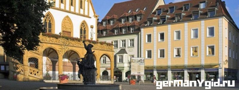Старинный город Амберг