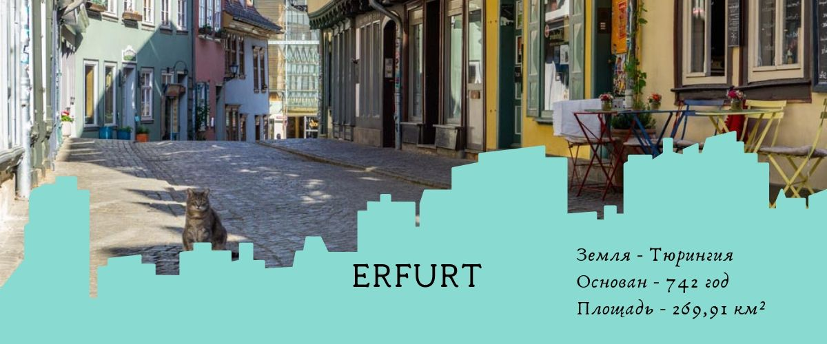 О городе Эрфурте