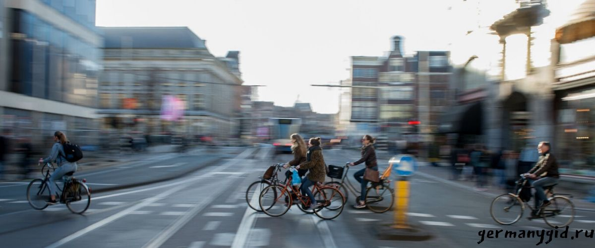 Правила велосипедистов в Германии