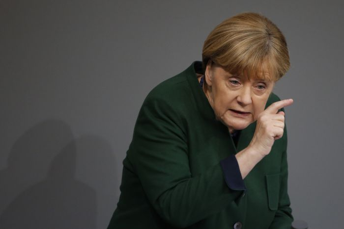 партия меркель