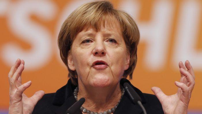 сколько лет у власти меркель