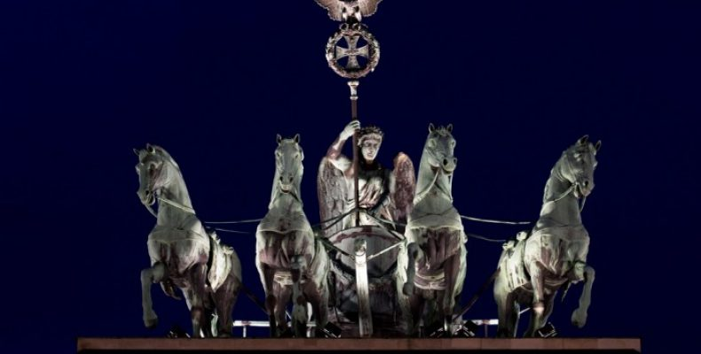 Бранденбургские ворота — символ мира